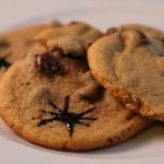 Spider Chip Cookies for Halloween