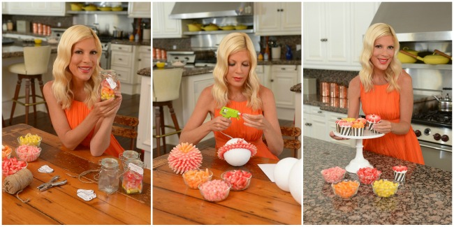 halloween party favors featuring starburst candy corn starburst candy corn and tori spelling