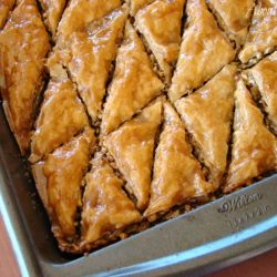Baklava is such a wonderful, decadent dessert. This classic Greek Baklava recipe is finger licking good.