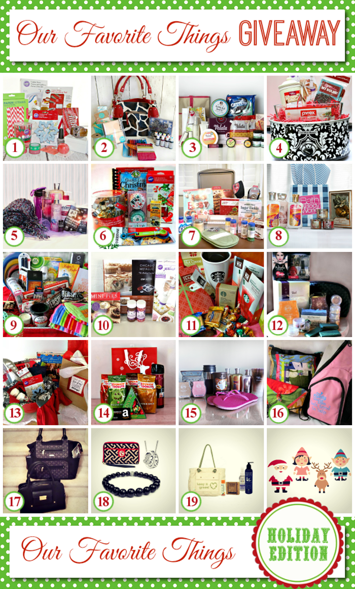 My Favorite Things Giveaway Hop on About a Mom