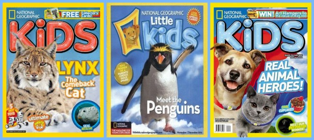 National Geographic Kids Magazine Giveaway