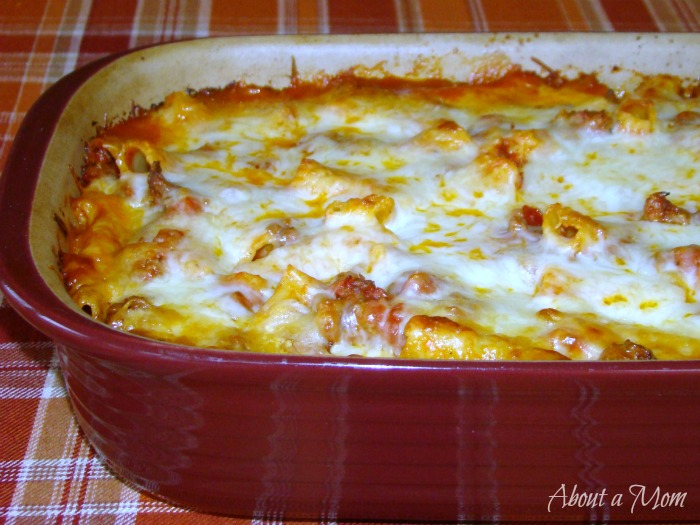 Rigatoni Pasta Bake Recipe