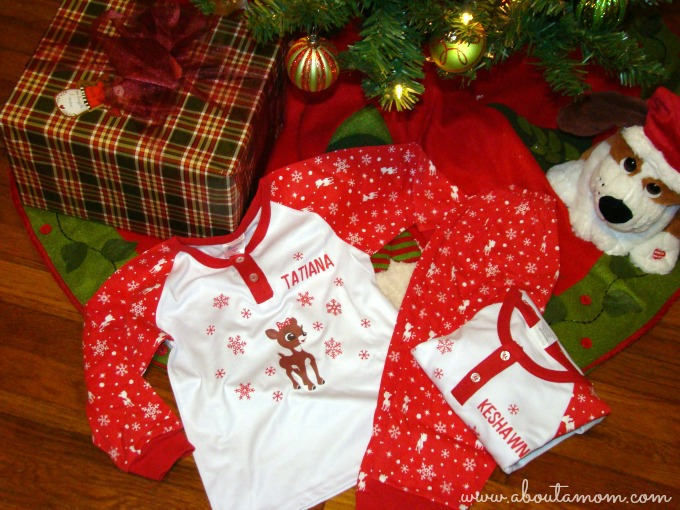 Personalized Christmas Pajamas from Personalized Creations