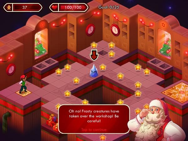 Santa Sprint Game