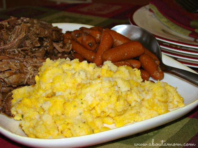 Slow Cooker Pot Roast with Betty Crocker Ultimate Mashed Potatoes