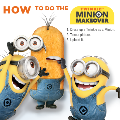 Twinkie Minion Makeover Sweepstakes