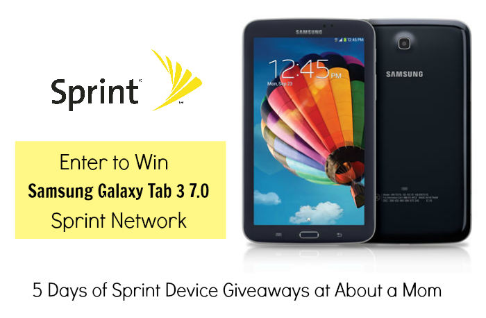 Win a Samsung Galaxy Tab 3 7.0 from Sprint