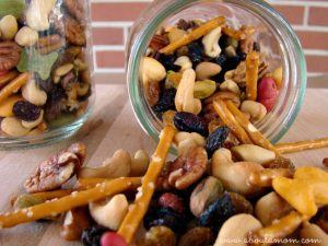 4 Nut Trail Mix Inspired by The Nut Job Movie #'TheNutJob