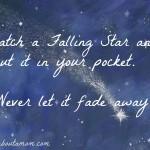 Catch a Falling Star #RememberWhen
