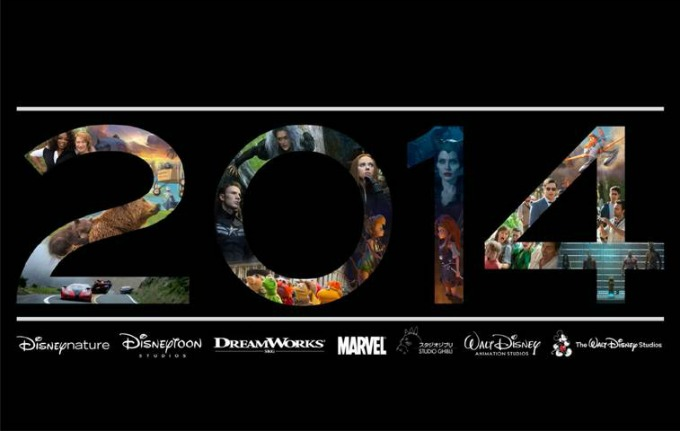 Disney Movie Lineup for 2014