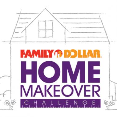 #FamilyDollarHomeMakeover Challenge