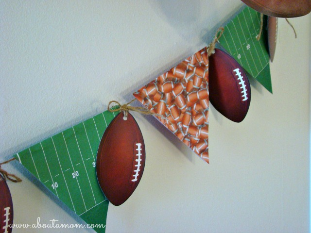 Game Day Party Ideas Football Banner