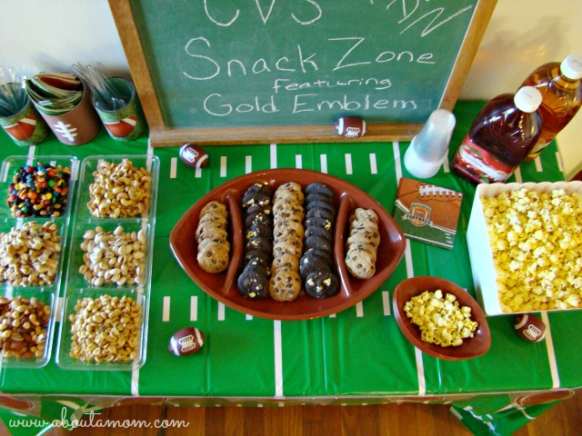 Game Day Party Ideas Snack Zone