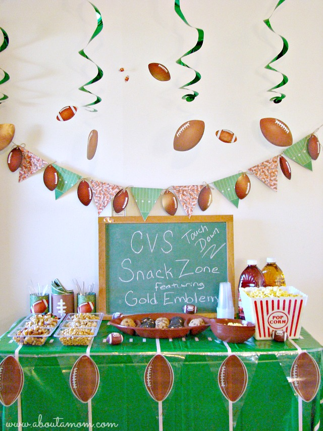 Game Day Party Ideas with CVS