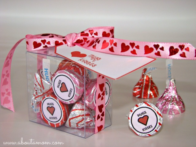 Hugs and Kisses Valentine's Day Printables
