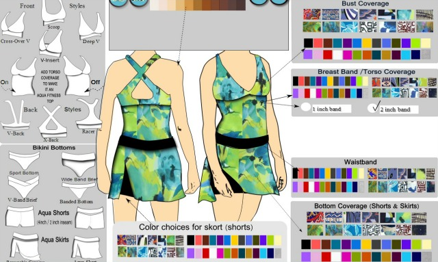 NAYAD, Design Your Own Fitness Apparel
