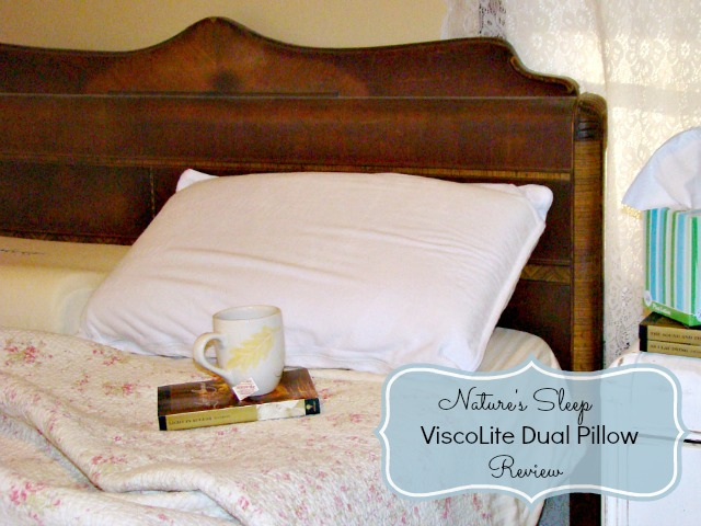 Nature's Sleep ViscoLite Dual Memory Foam Pillow Review