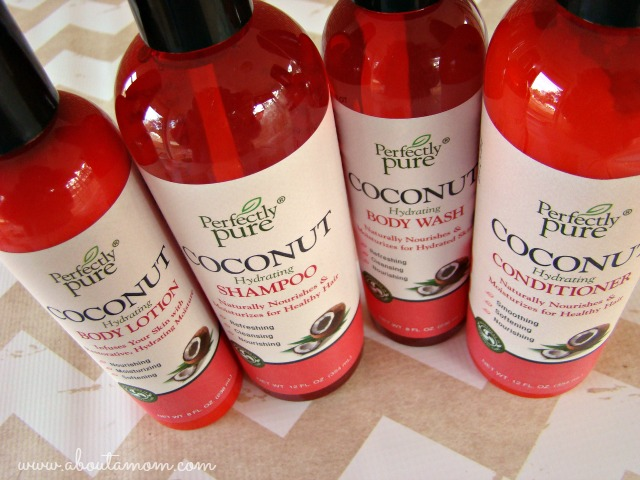 Pamper Yourself with Perfectly Pure Coconut Personal Care Collection