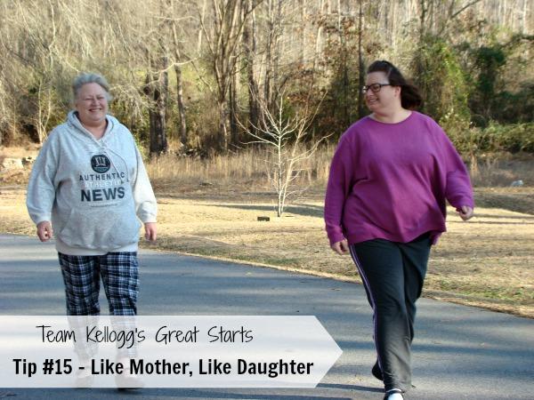 Team Kellogg's Great Starts Tip #15 Like Mother, Like Daughter