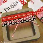 Washi Tape Valentine Trinket Box and Gift Tags