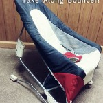 Make Traveling with Baby Easier with the Take Along Bouncer from Tiny Love!