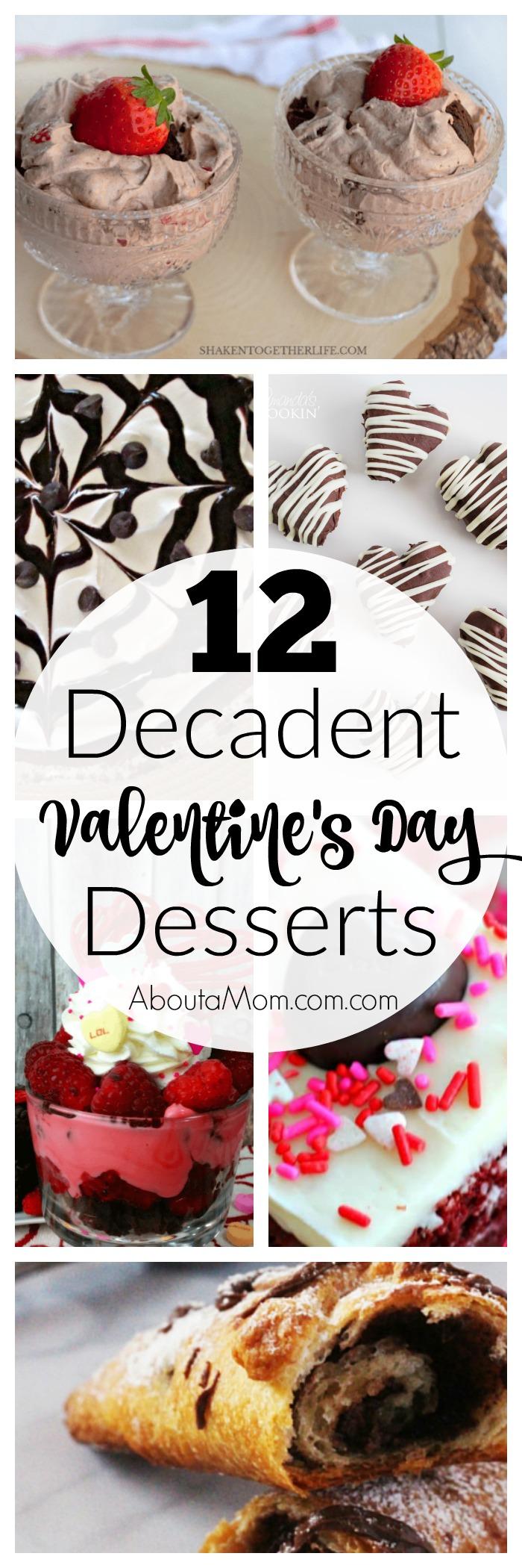 12 decedent Valentine's Day desserts
