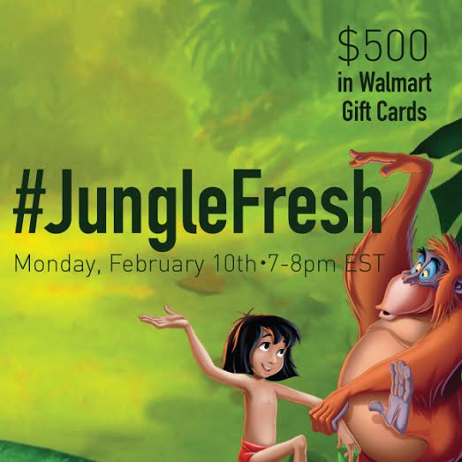 Join Me for the #JungleFresh Twitter Party on 2/10 at 7pm EST!