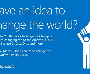 Microsoft YouthSpark Challenge for Change