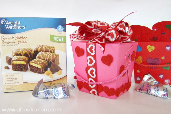 Weight Watchers Peanut Butter Brownie Bliss - My Skinny Valentine