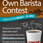 Be Your Own Barista Contest at RaceTrac