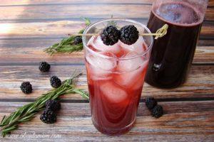 Blackberry Shrub - Sipping Vinegar