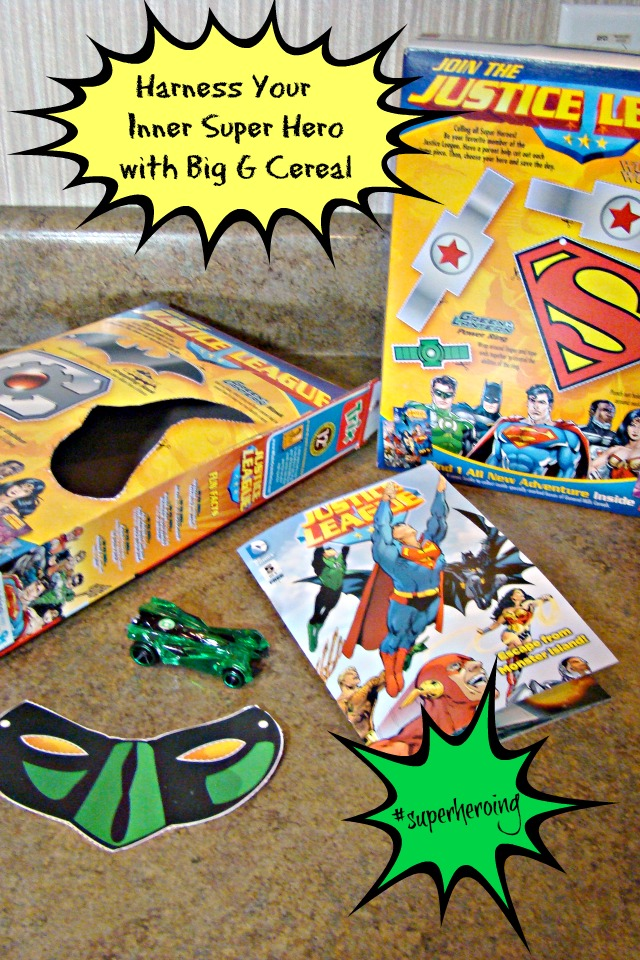 Harness Your Inner Super Hero with Big G Cereals