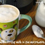 How to Make Your Own Frothy Milk in the Microwave