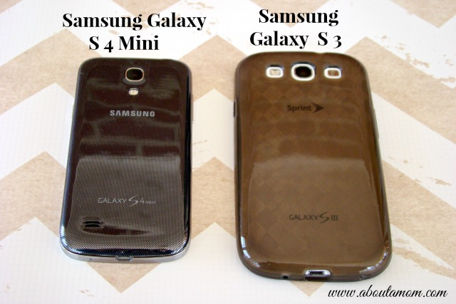 Samsung Galaxy S 4 Mini and S 3 Side by Side