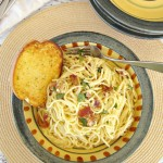Spaghetti Carbonara - Family Dollar More for Less Recipe Challenge Finalist #FamilyDollarMore4Less