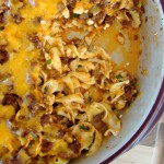 Tangy Beef and Noodle Casserole Recipe