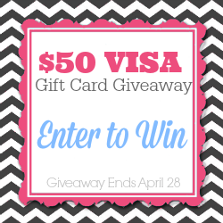 $50 VISA Giveaway