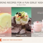 Foodie Collection of Inspiring Recipes for a Girls Night In