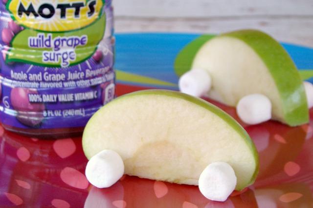 Fun Food for Kids - Apple Racecars