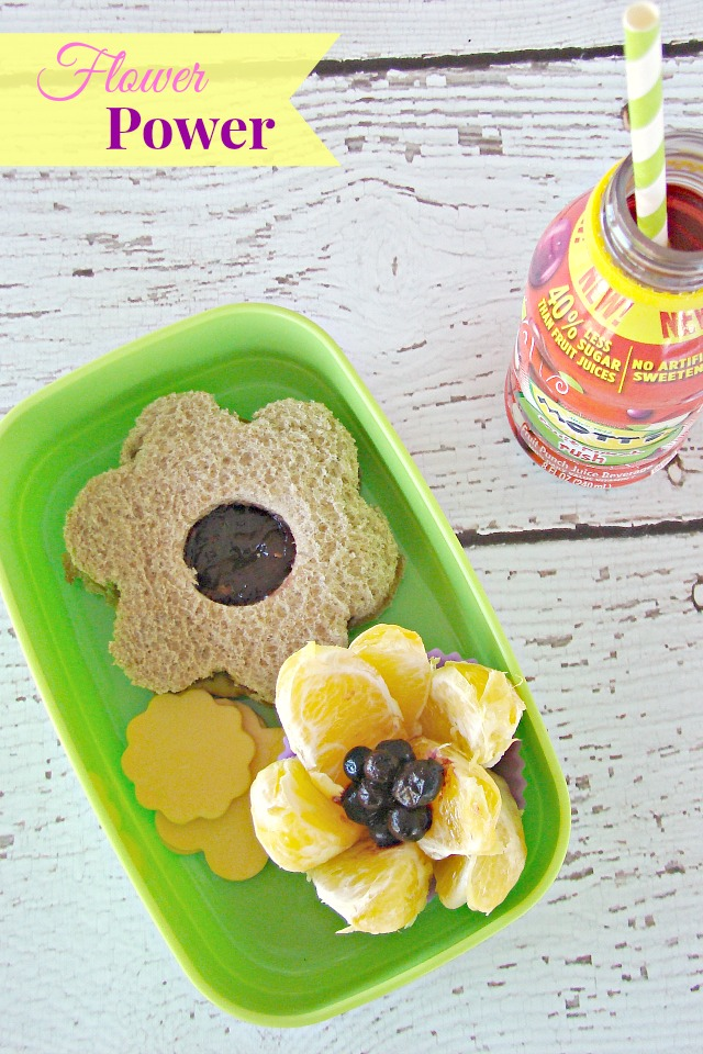 Fun Food for Kids - Flower Bento