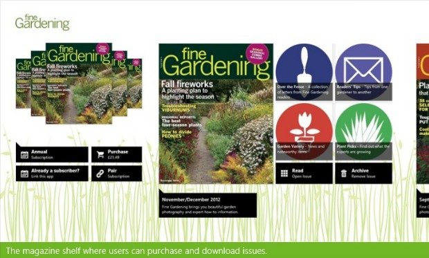 Gardening Apps for Windows 8 - Fine Gardening