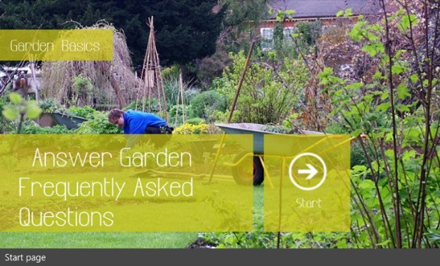 Gardening Apps for Windows 8 - Garden Basics