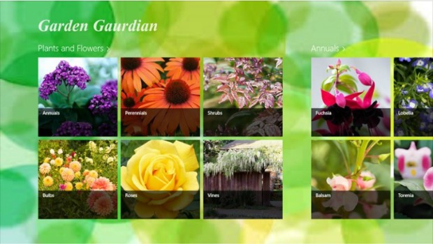 Gardening Apps for Windows 8 - Garden Guardian