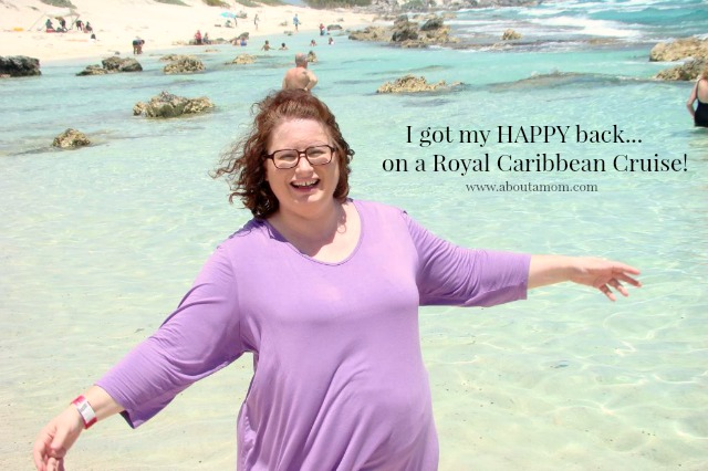 I got my happy back on a Royal Caribbean Cruise to Cozumel!