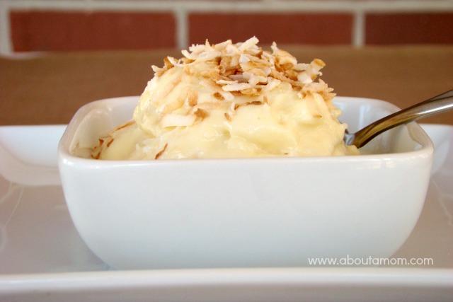 Pineapple Coconut Ice Cream Recipe