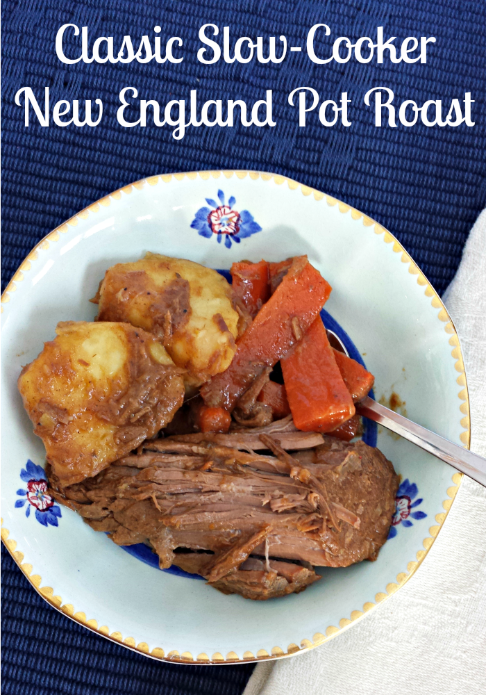 Classic New England Pot Roast Slow Cooker Recipe