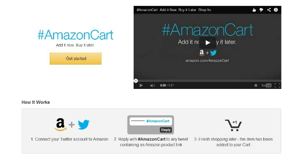 How #AmazonCart Works