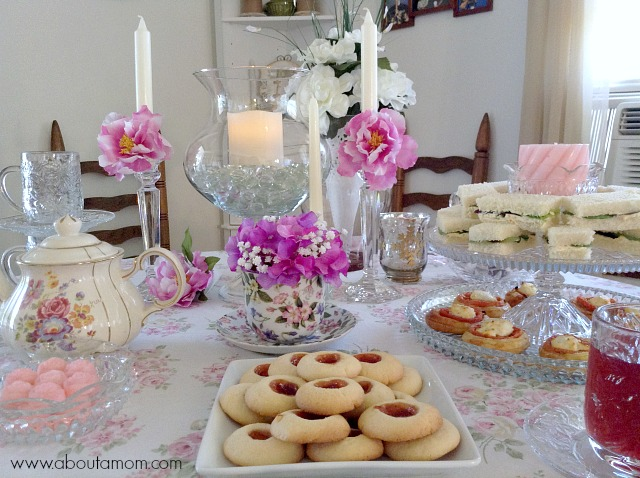 Mothers Day Tea Party Inspiration About A Mom