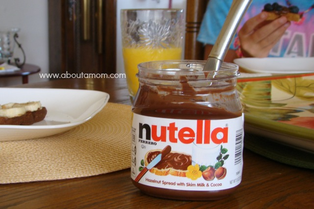 Spread the Happy - Nutella and Fruit Toast