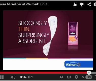 Have you experienced LBL? Try new Poise Microliners at Walmart.